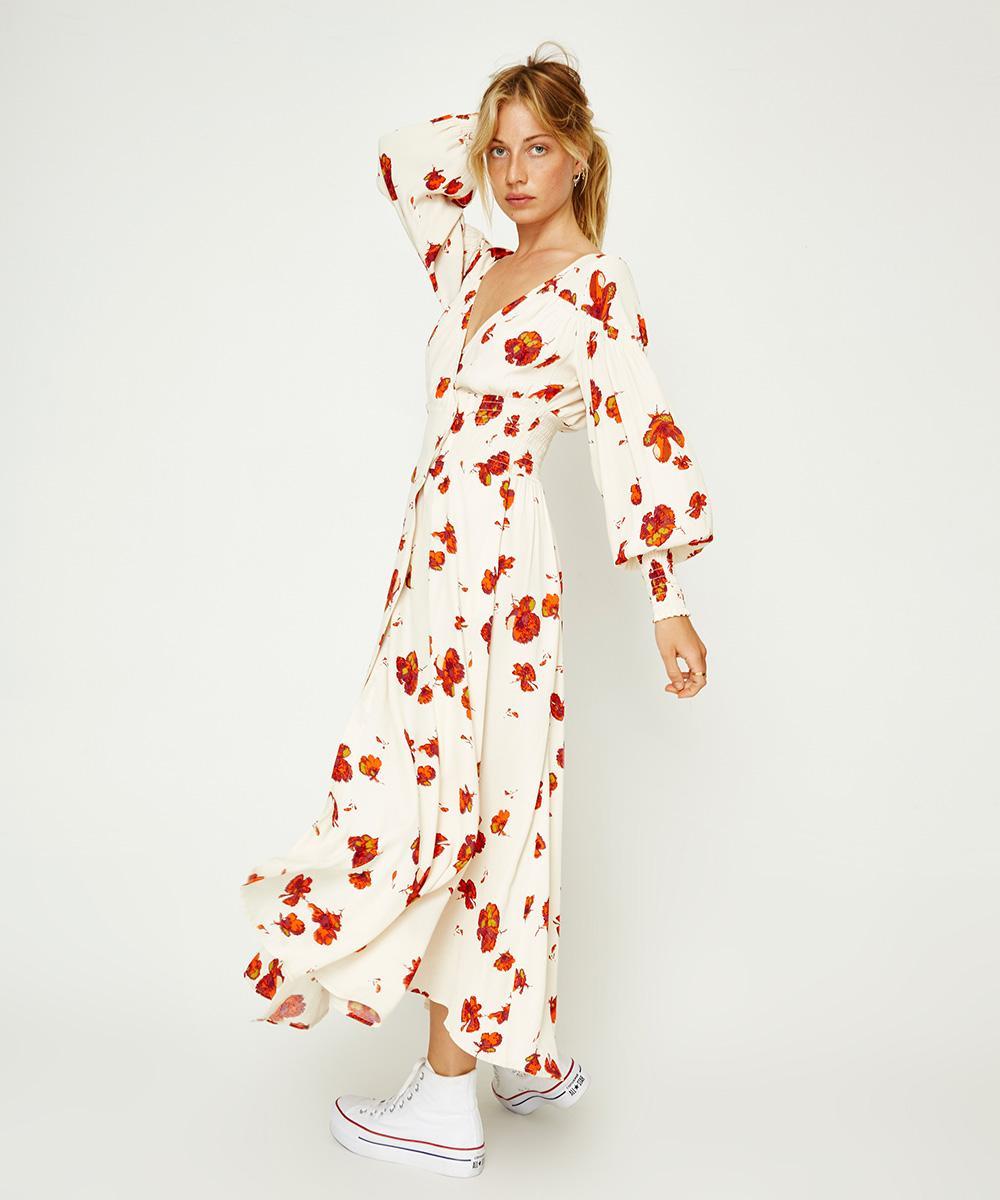 WRAP MAXI DRESSES