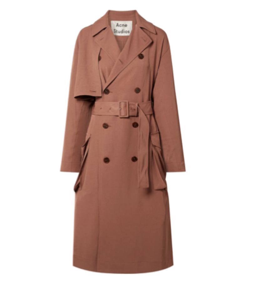 ACNE -  Twill Trench Coat