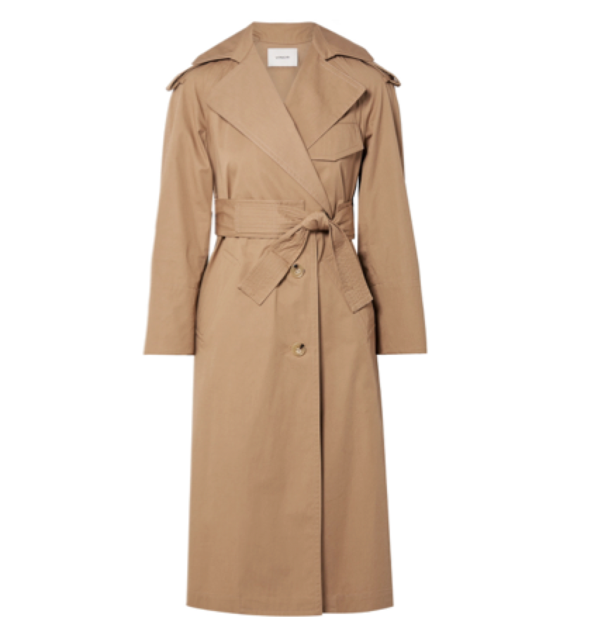 Vince -  Cotton-canvas Trench Coat
