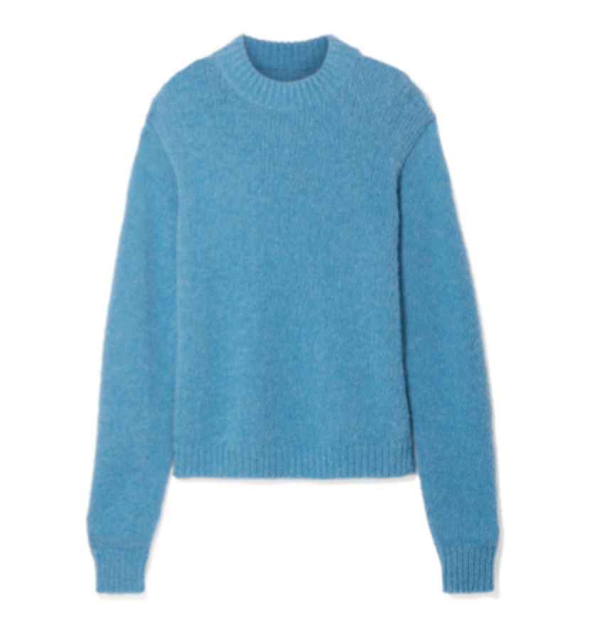 Tibi -  Oversized Alpaca-blend Sweater