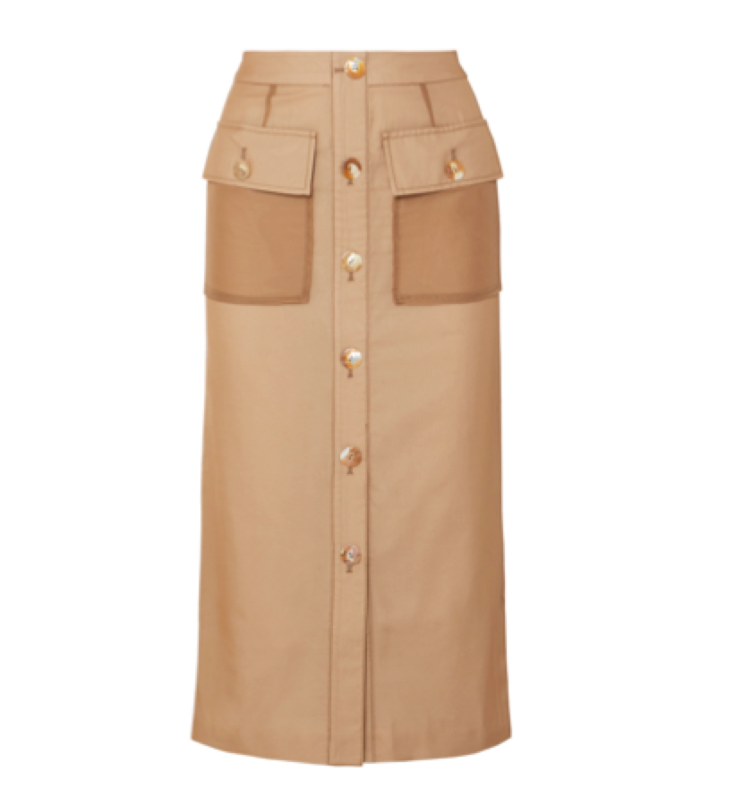 Rejina Pyo -  Button-detailed skirt
