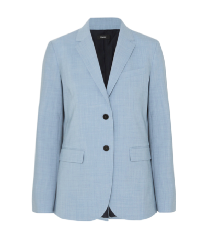 Theory -  Classic Stretch-wool Blazer