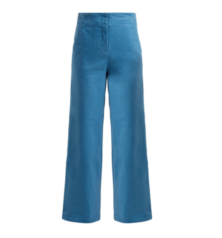 Tibi -  High Rise Wide Leg Jeans