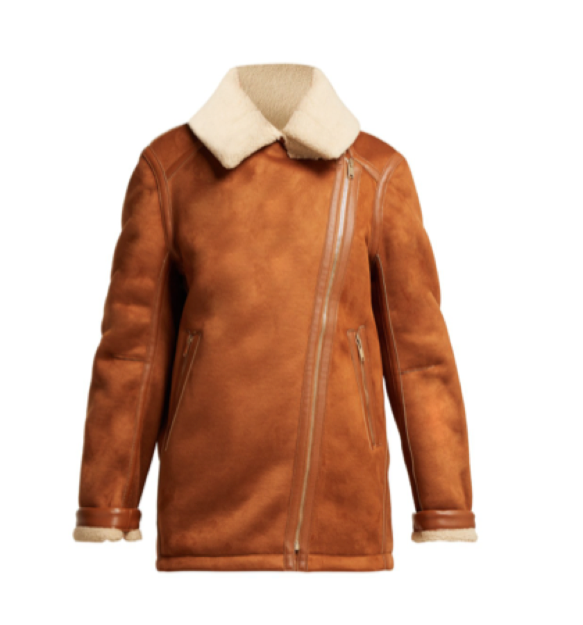 Stella Mccartney -  Faux Shearling Jacket