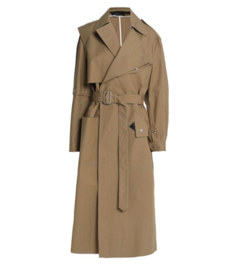 Joseph Cotton- blend Trench Coat