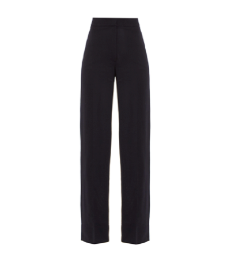Jacquemus -   High Rise Wool Trousers