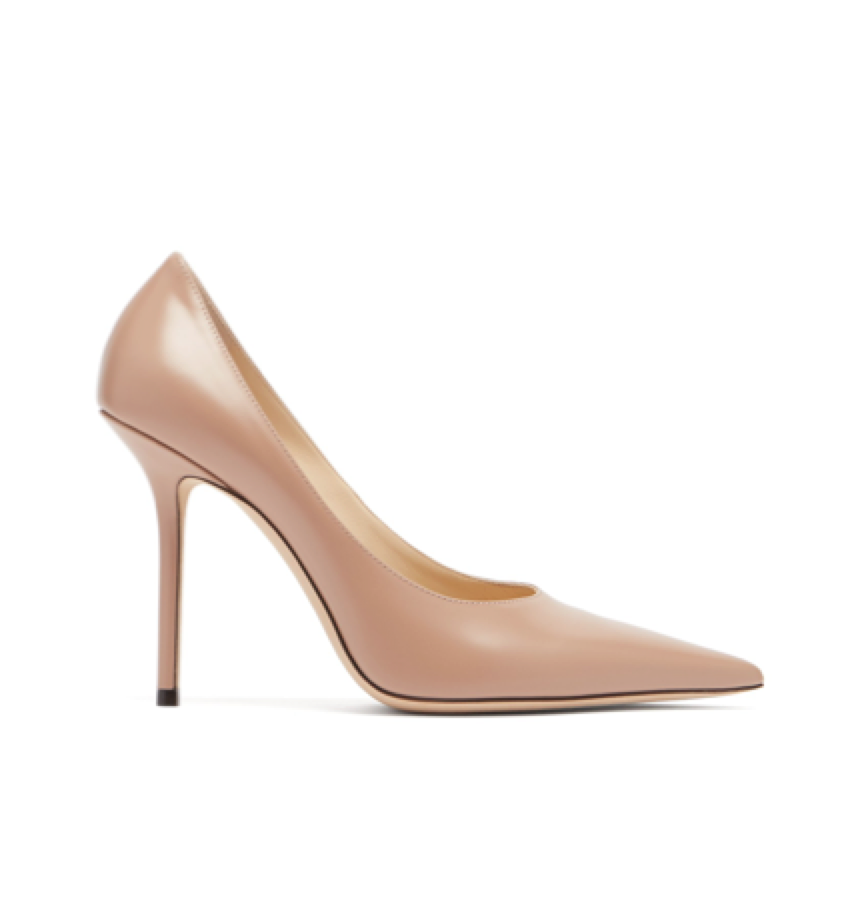 Jimmy Choo -  Ava 100 Leather Pumps