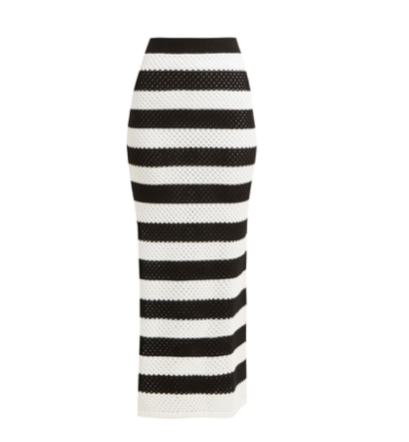 Dodo Bar Or -   Striped Cotton Skirt