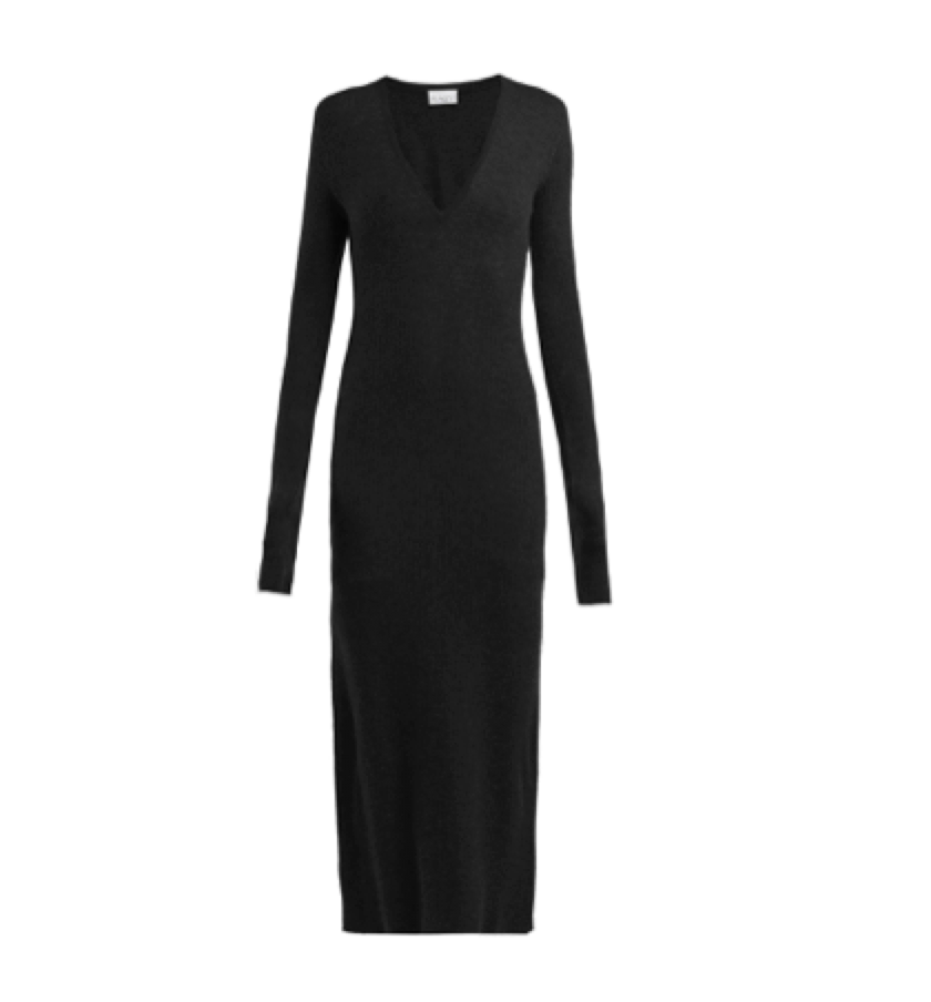 BLACK DRESS (THAT CAN BE WORN DRESSY OR CASUAL)