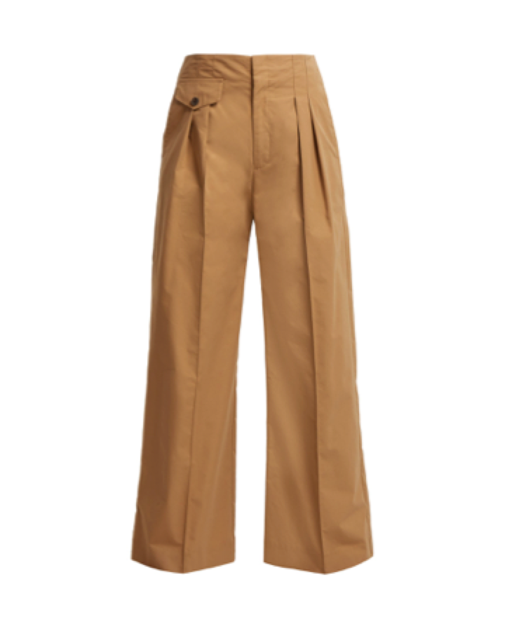 Sea -  High Rise Wide Leg Trousers