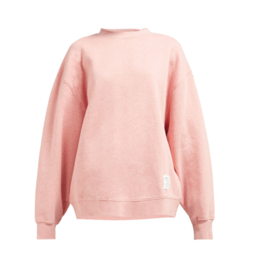 5e64453b0c82 Acne Studios - Loose Fit Cotton Jersey Sweatshirt