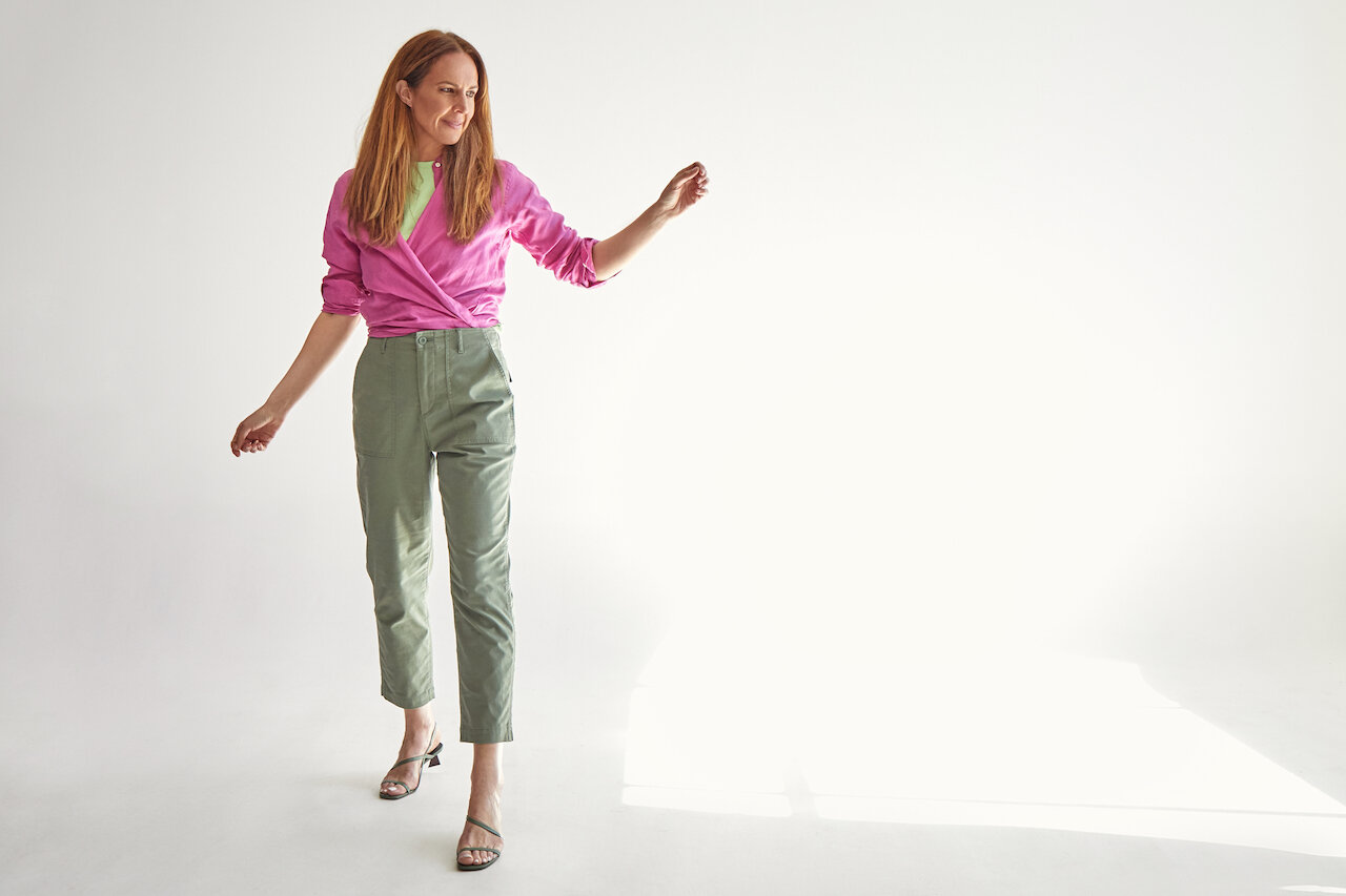 WITH RELAXED STYLE PANT