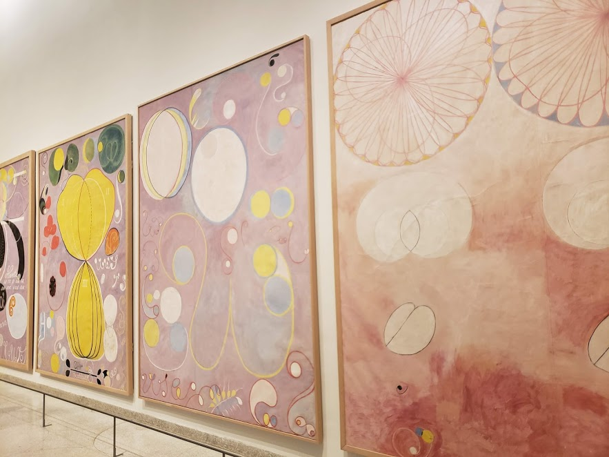 Hilma af Klint - Paintings For the Future at the Guggenheim Museum in NYC. Photo by Katie Pilgrim.