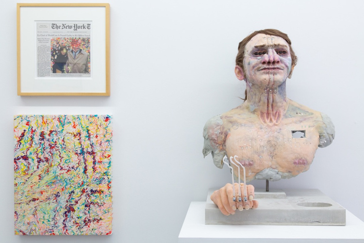Fred Tomaselli, Glen Baldridge, David Altmejd