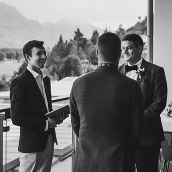 Andrew Bell Queenstown | Wanaka   Working with each couple is a truly rewarding and wonderful experience. The love, thought, and effort that goes into every wedding (whatever the setup) is beautiful and I am always excited to help you say,  'I do'!    https://andrewbellcelebrant.co.nz   Facebook  /  Instagram