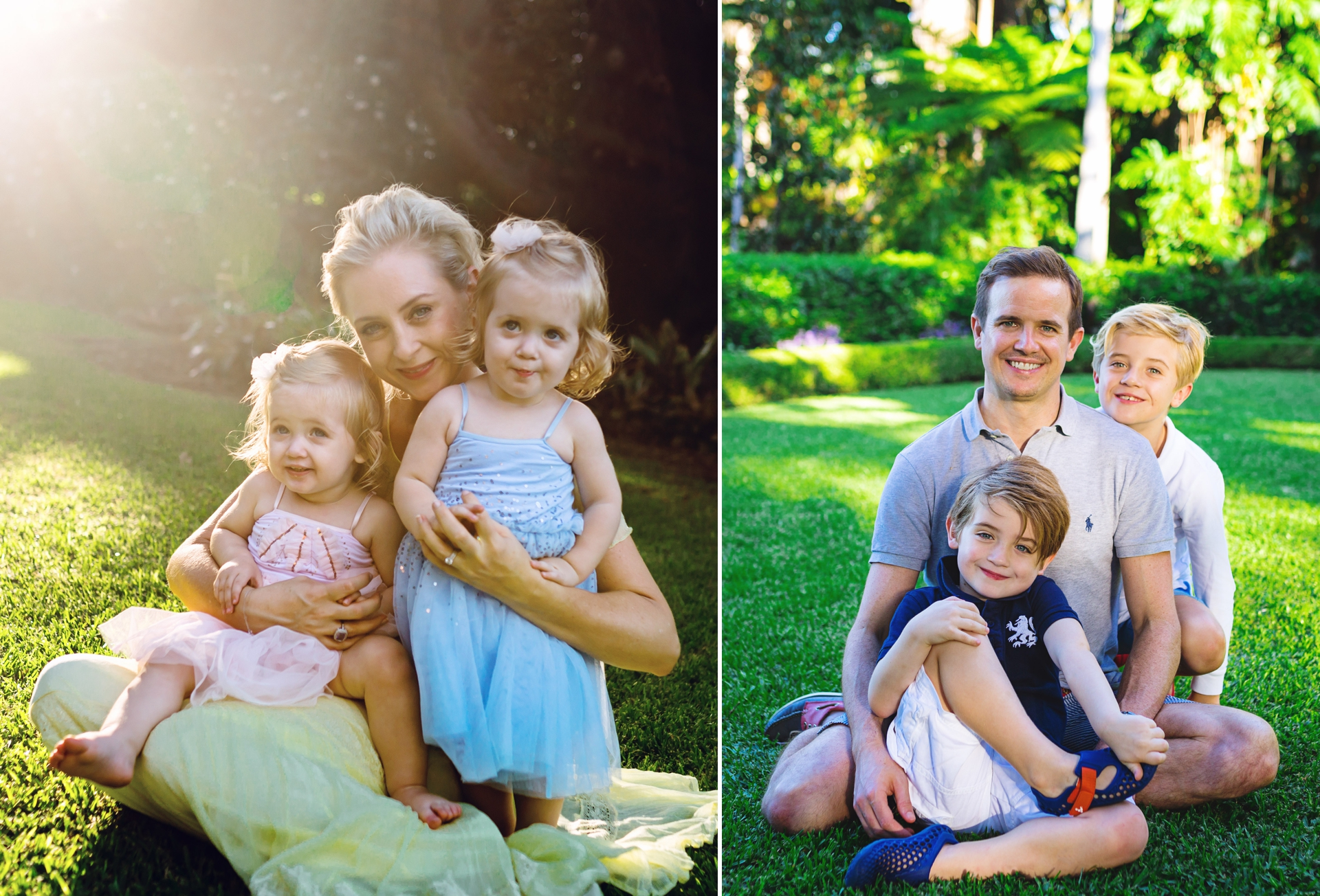 Outdoor Family Sunset Session