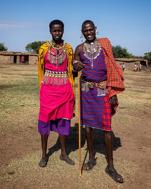 "The Maasai are famous for their fearsome reputations as warriors & cattle rustlers. Traditional Maasai lifestyle centres around their cattle, which are their primary food source. For centuries the Maasai have turned their backs on the lure of ""modern life"" & despite education & Western cultural influences, they remain faithful to their ancestry & traditional way of life. We are grateful to have recently travelled to Maasai Mara in Kenya & learn about the proud Maasai culture first-hand. Watch this space for our special edition article & more stunning pictures of the Maasai. . . . . . . . . . . . . . . #maasai #maasaimara #kenya #peopleoftheworld #tribeoftextiles #maasaipeople #indigenous #warriortribe #ignant #noisemag #hikaricreative #chasinglight #independentmag #somewheremagazine #facesofafrica #natgeotravel #indigenousculture #thisisafrica #mamaafrica #tribalculture #taintedmag"