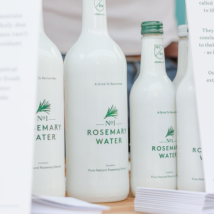 No. 1 Rosmary Water   -  Time to talk about our friends and sponsors No.1 Rosemary Water! Whether it's sparkling or still, the science behind No.1 Rosmary Water says that you'll live to 100- better drink up!
