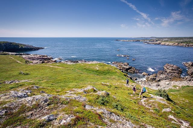 Hiking along the coastline is definitely one of our favourite ways to get sea-fresh air. Check out Gooseberry Cove the next time you're near Louisbourg or Sydney - you'll be so glad you did!! #hikecapebreton #visitcapebretonisland #visitnovascotia #coastaltrails
