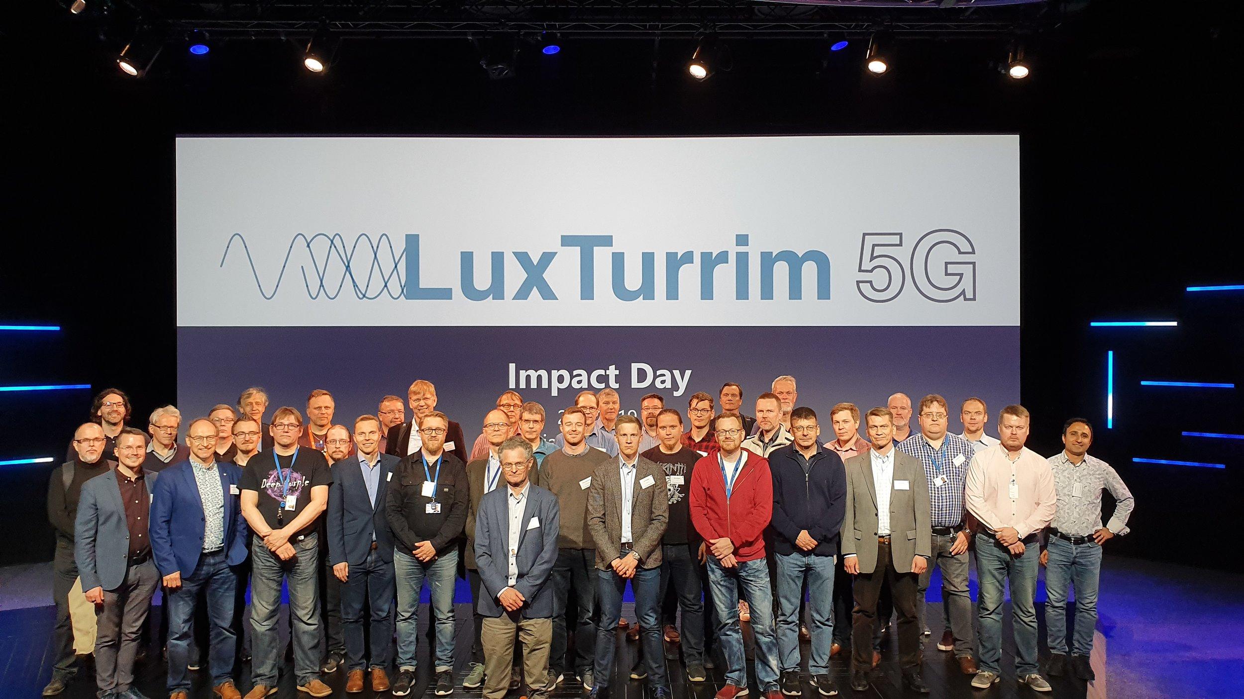 LuxTurrim5G project partners
