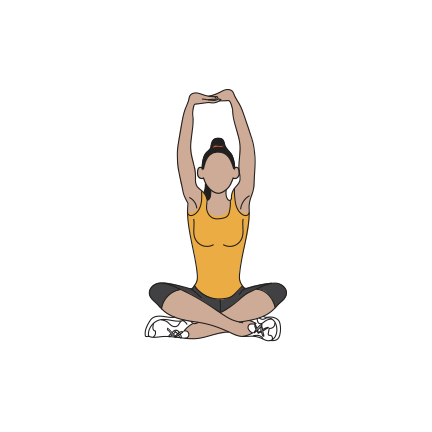 Upper mid back stretch and chest stretch.png
