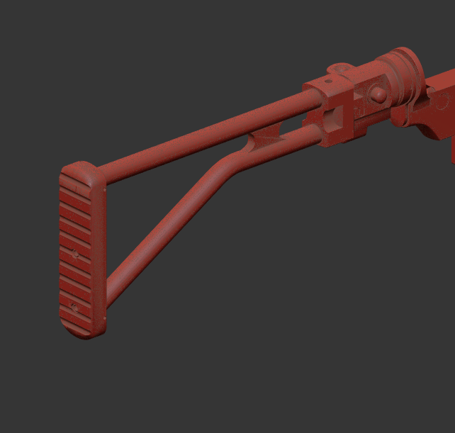 Folding Stock (High Poly)