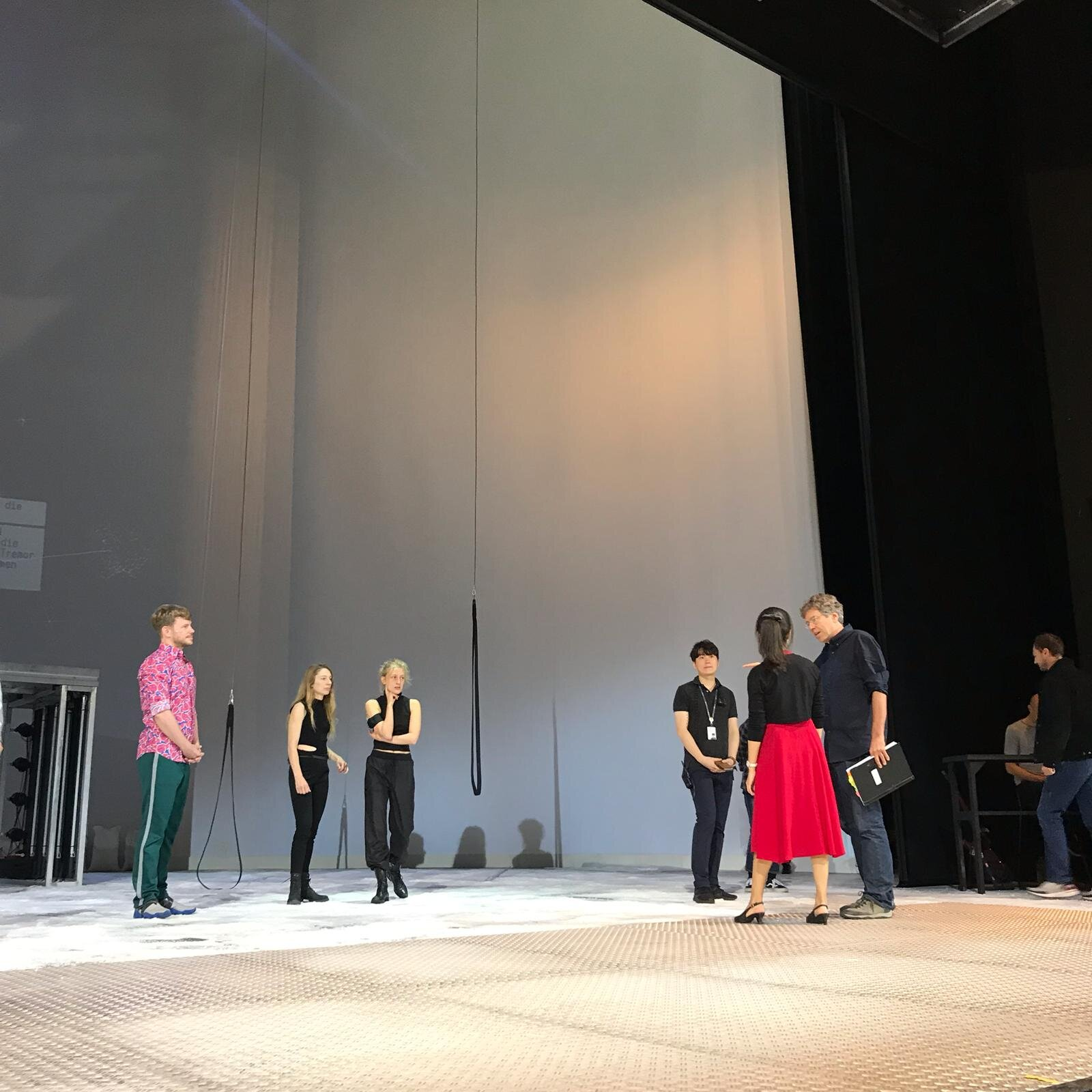 Bühnenproben LG Art Center
