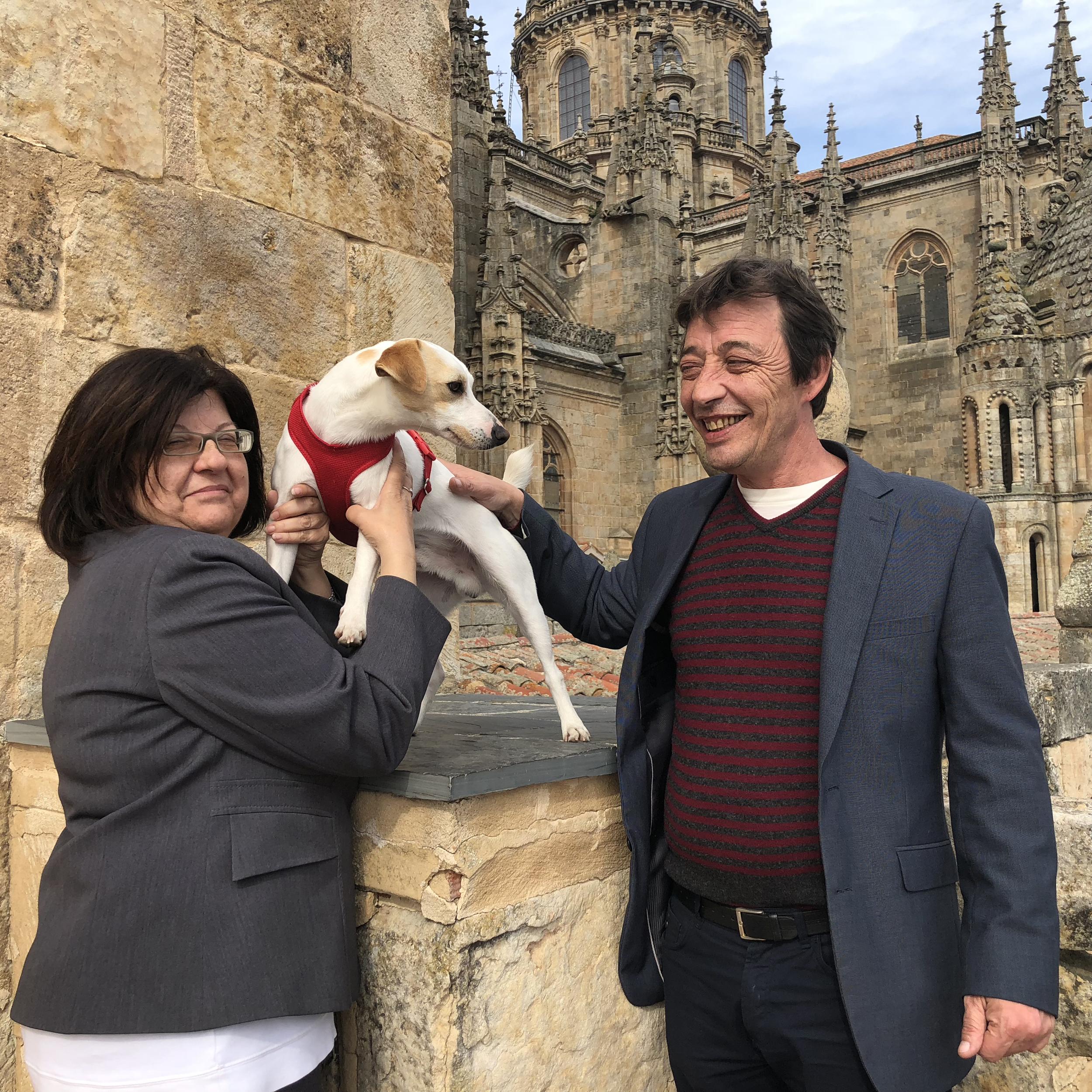 Con Margarita y Carlos en Ieronimus.