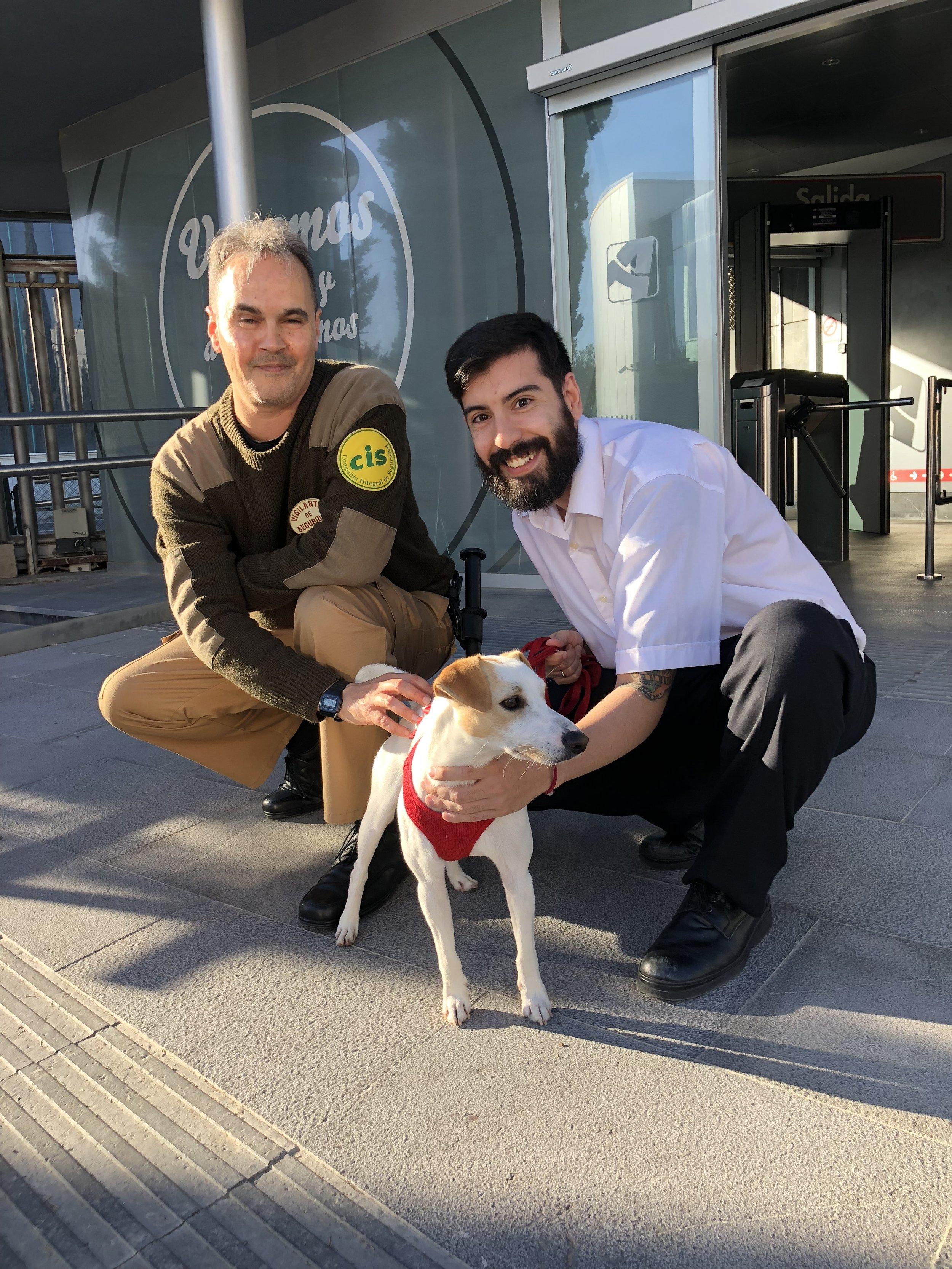 Con Jorge y Mario, en Aragón TV.