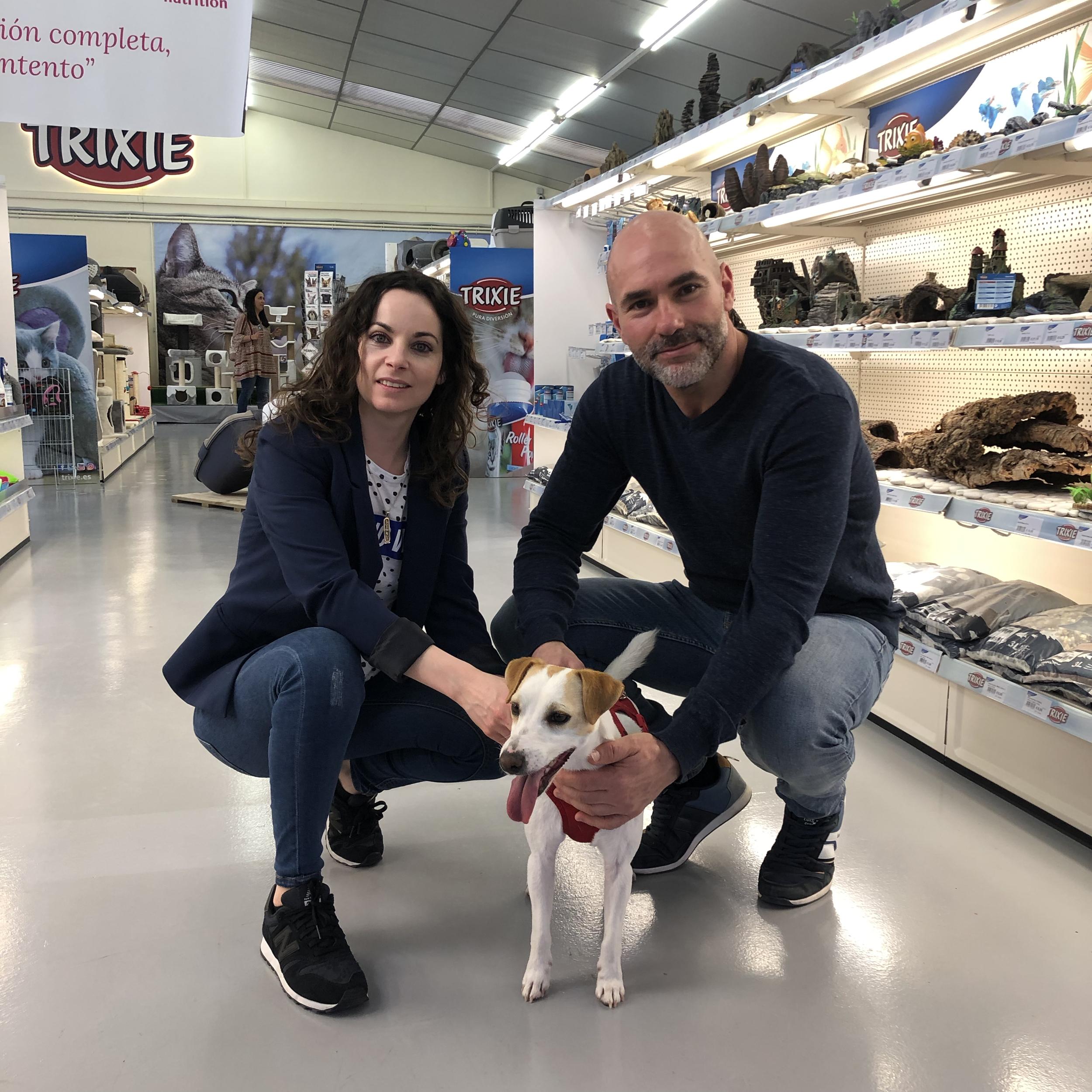 Con José y Eva, de Terraviva, en Trixie.