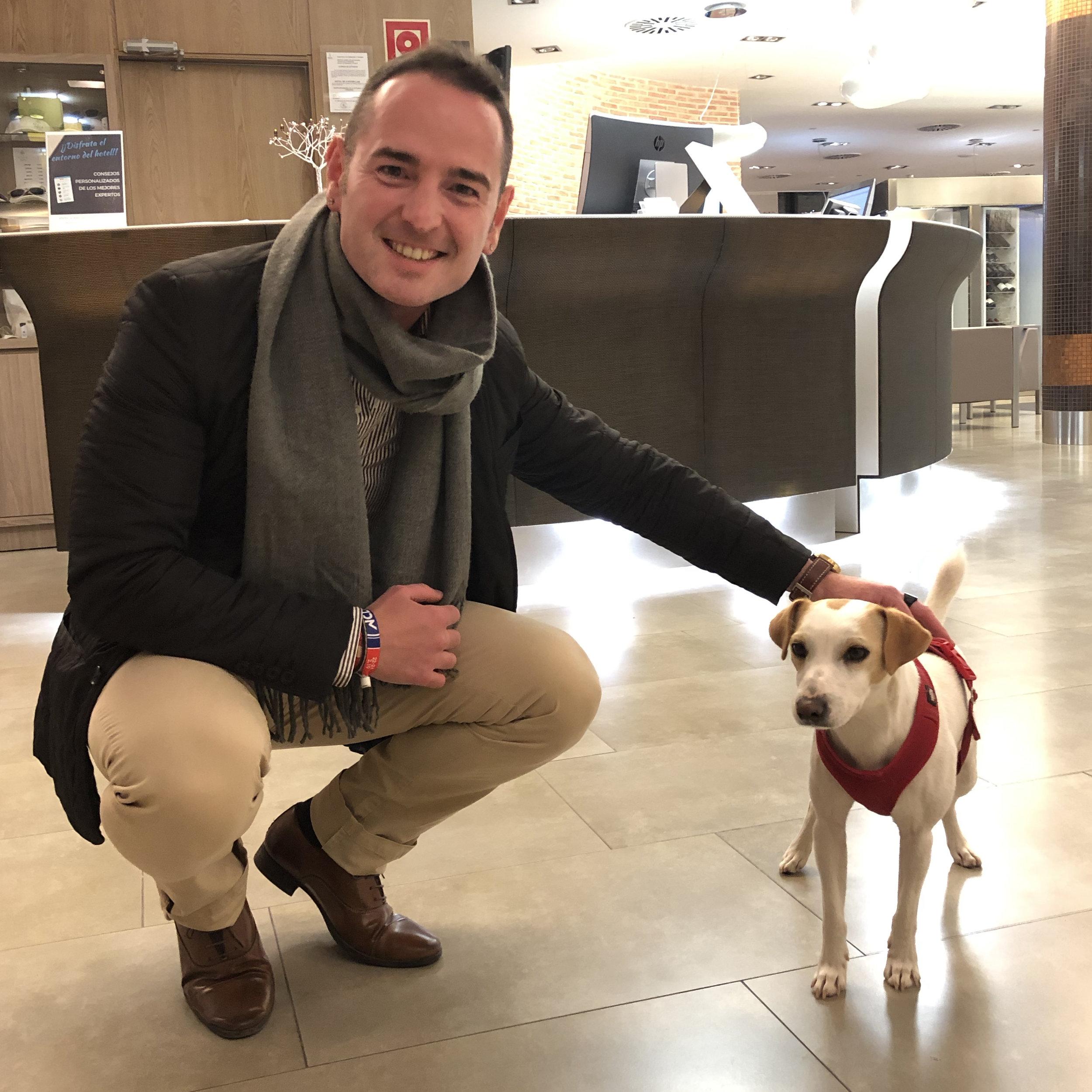 Con Mariano en Murcia.