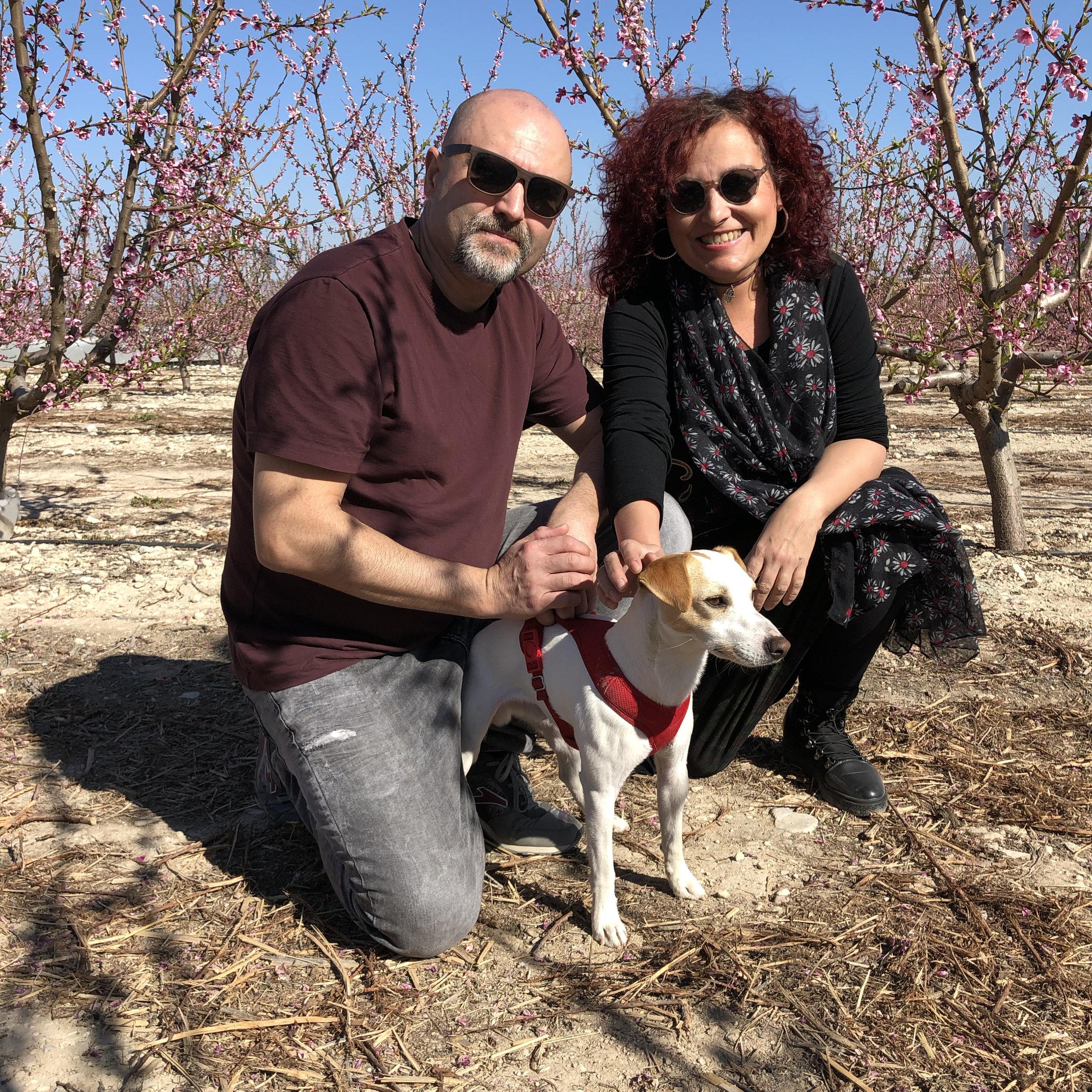 Con Rosania y Morales en Cieza.