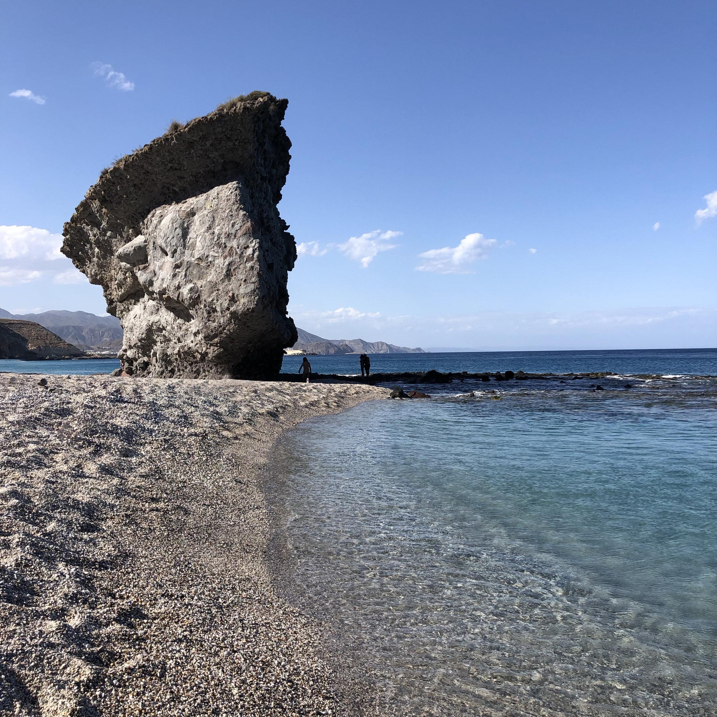 La Playa de los Muertos.