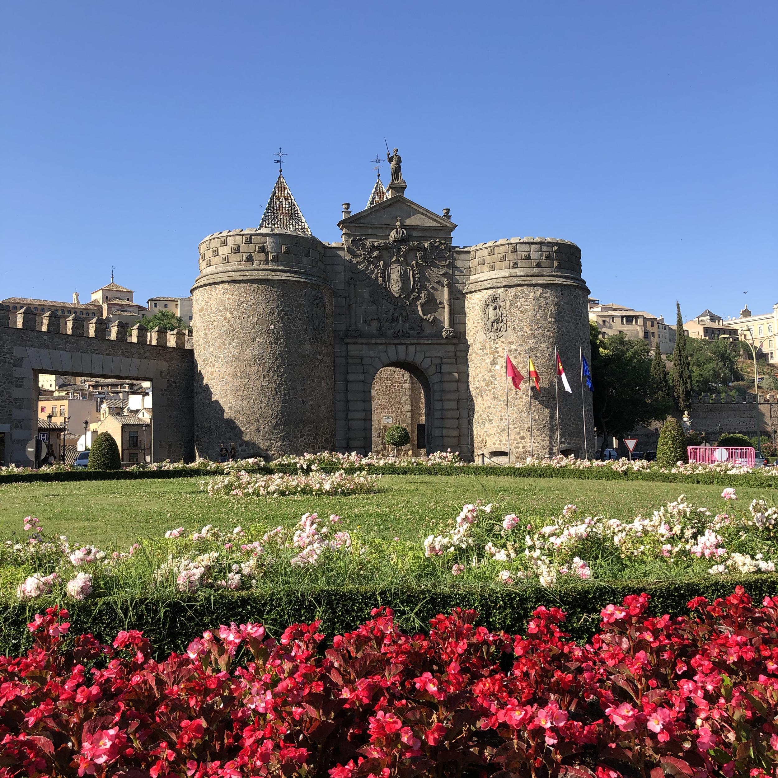 La Puerta de Bisagra de Toledo.