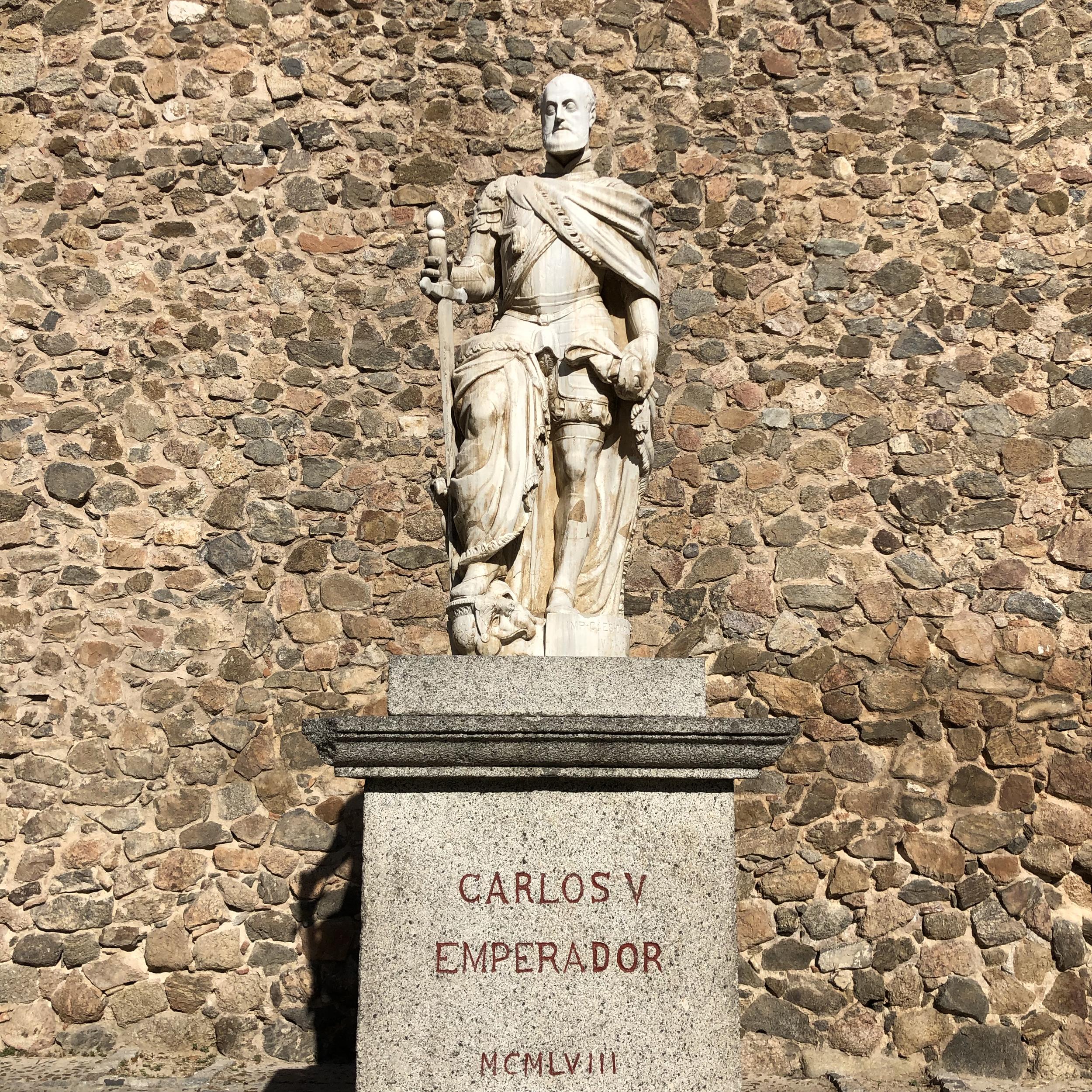 El emperador Carlos V en Toledo.