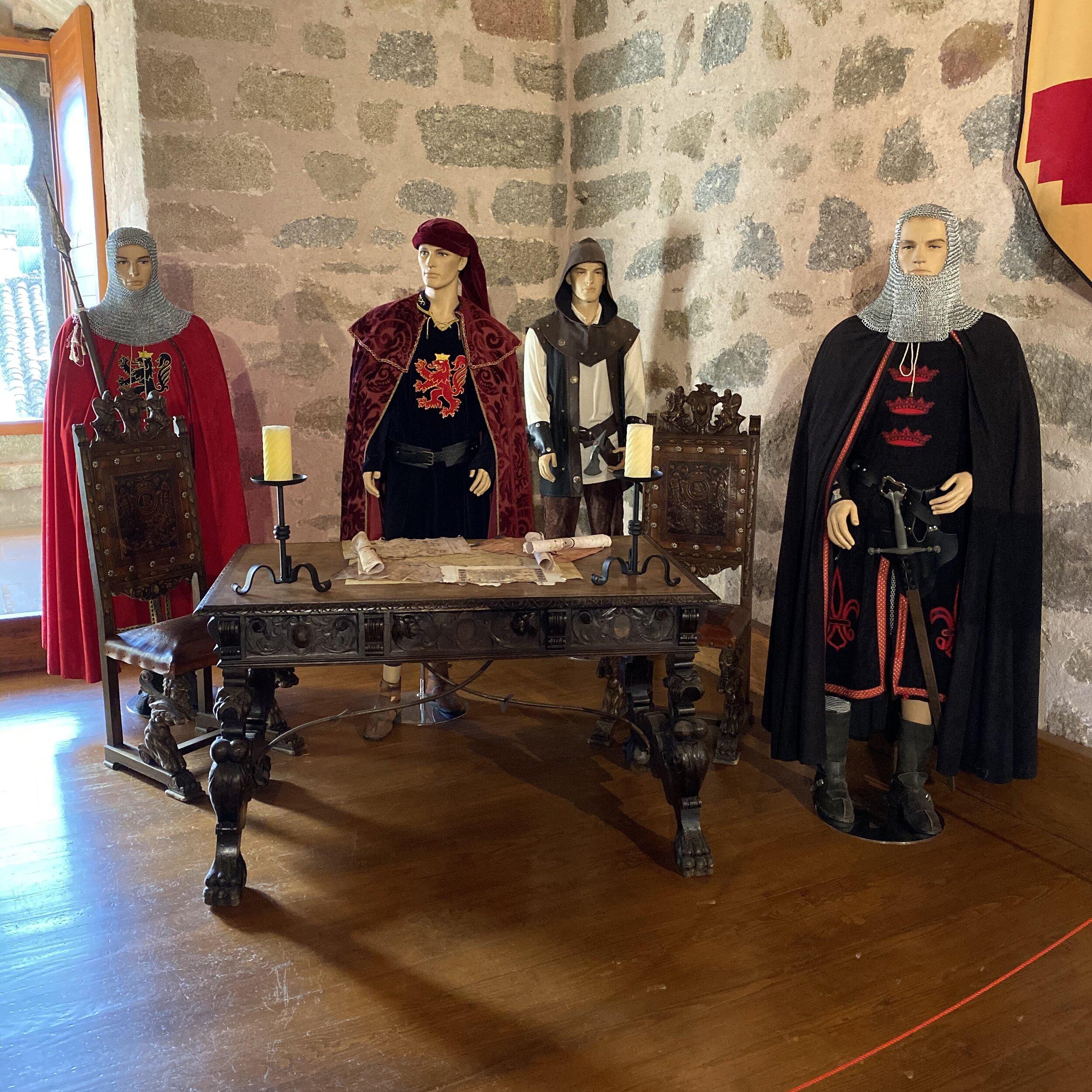 Exposición en el Castillo de la Triste Condesa.