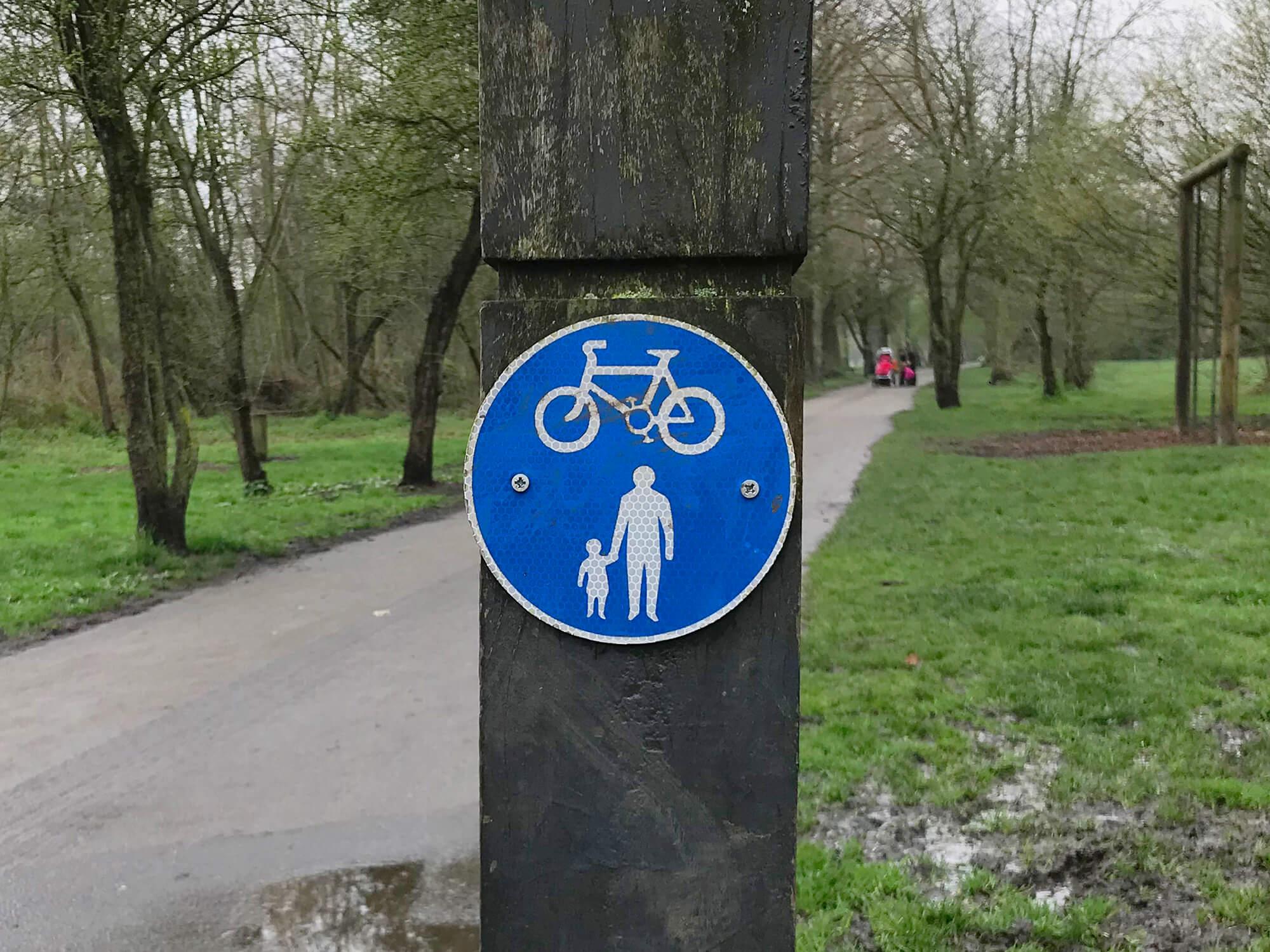 Shared use path