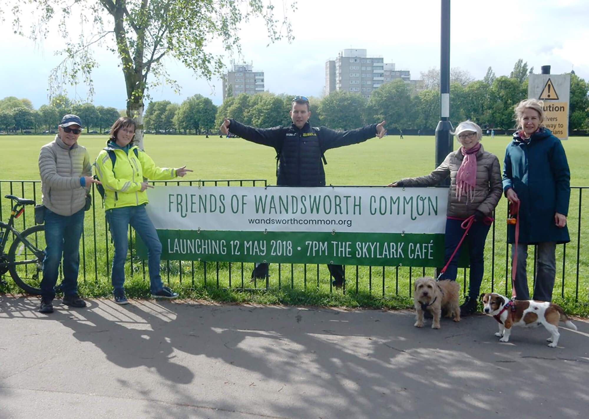 Friends of Wandsworth Common Banner