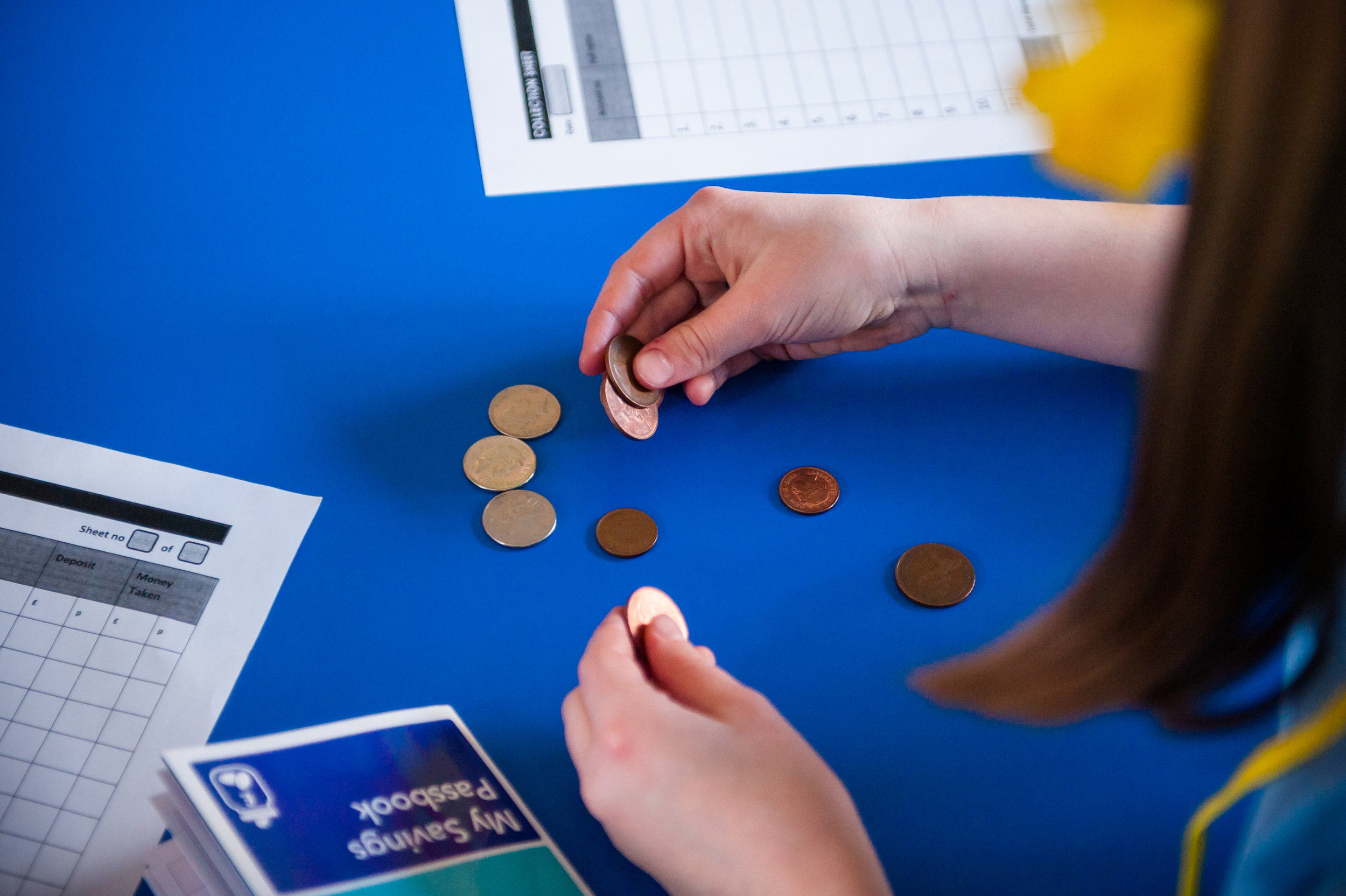 Full Support Programme - We are also able to offer in-school support to help primary schools embed financial education into the curriculum and set up savings clubs.