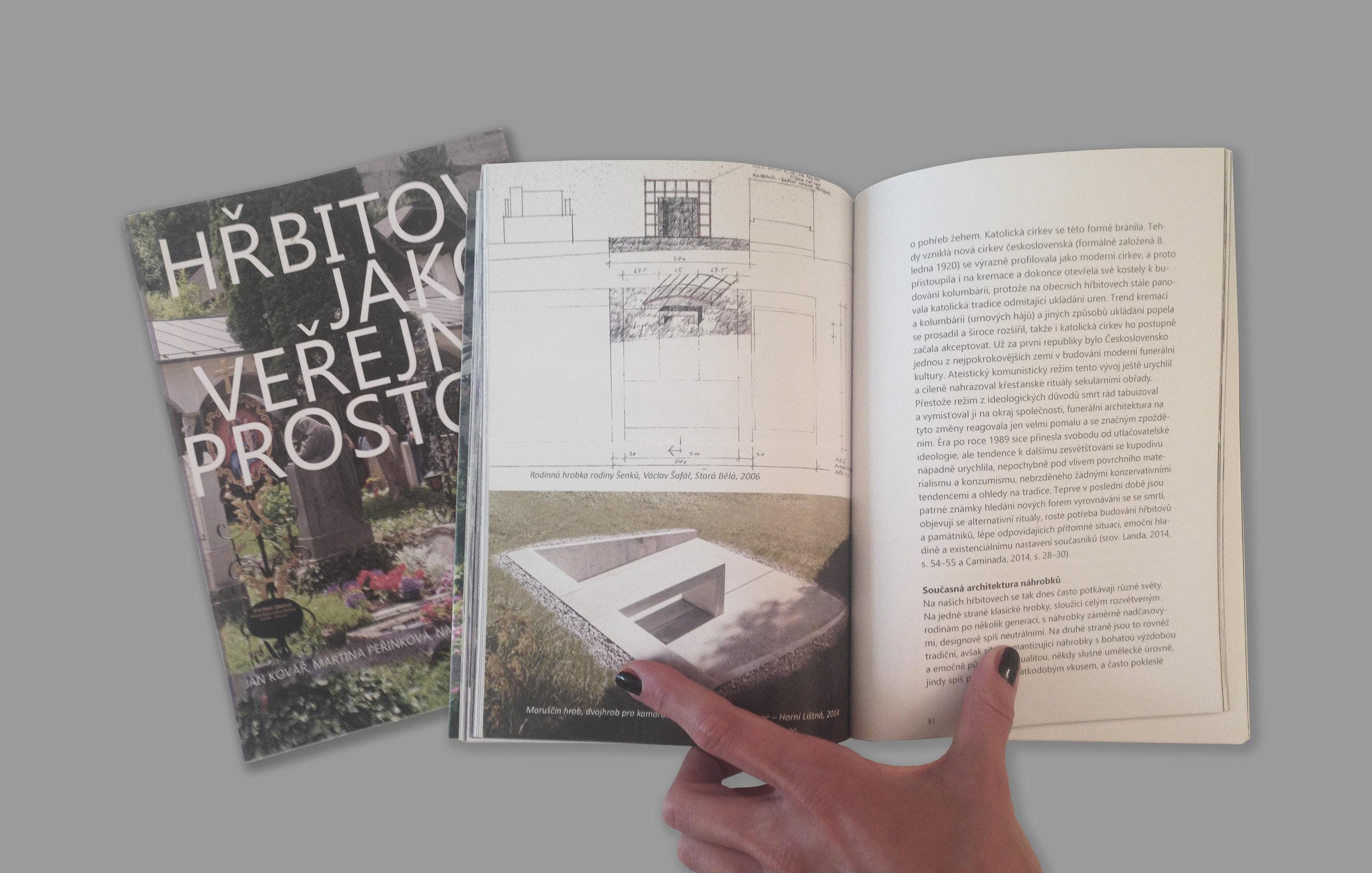 Unser projekt im Buch über Friedhöfe! -