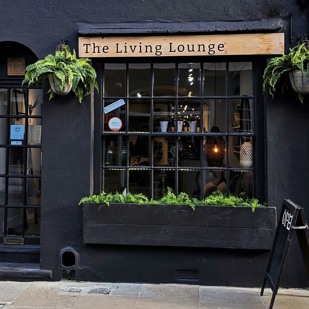 Visit my lifestyle store - 13 Orange Street Canterbury CT1 2JAMonday - Friday 10am - 4pmSaturday 10am - 5pmSunday CLOSEDT 01227 636580E leila@thelivinglounge.uk