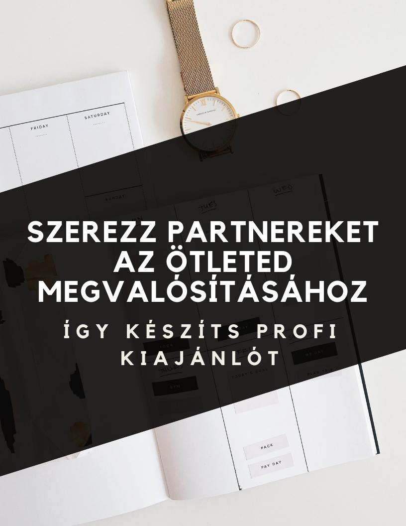 Szerezz partnereket - Kiajánló