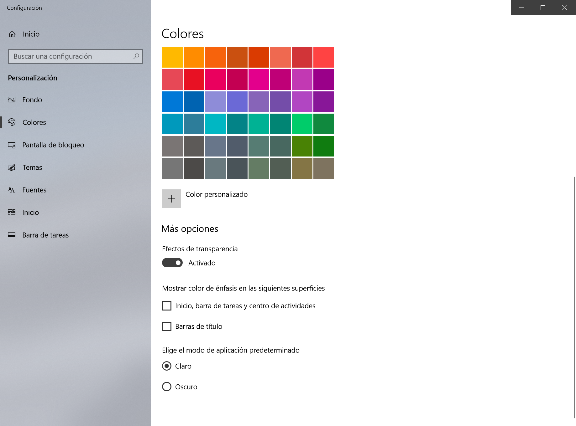 dark mode windows 10 oficial
