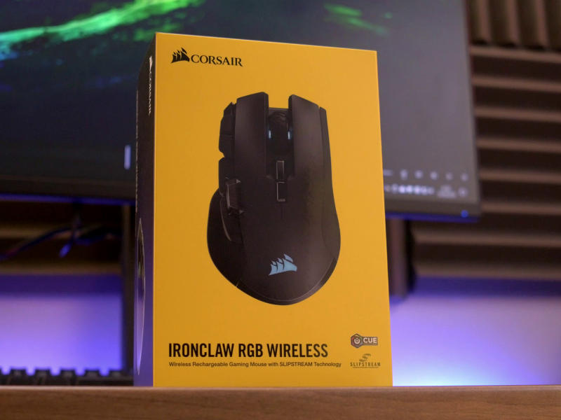 Corsair Ironclaw RGB Wireless - Comprar en PcComponentes