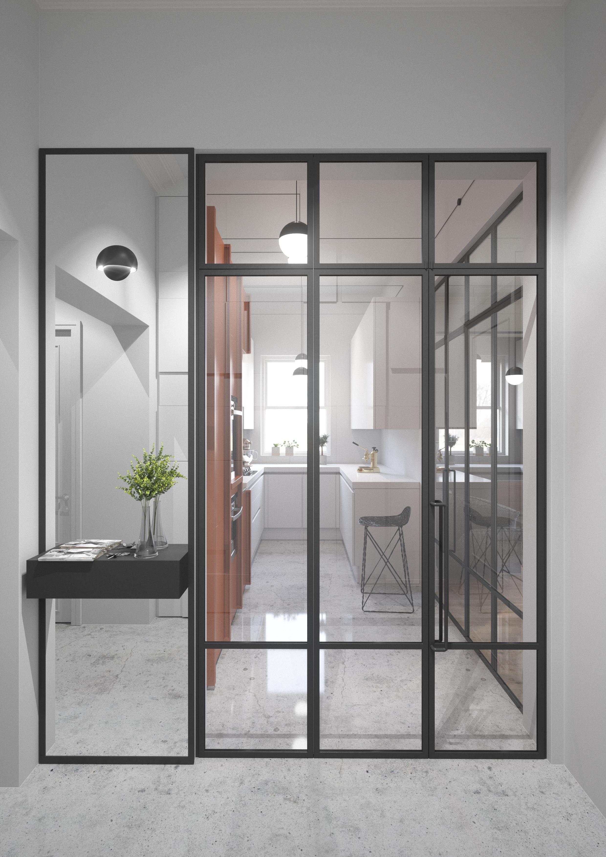 West Hampstead Interior Design Kitchen Crittall 3.jpg
