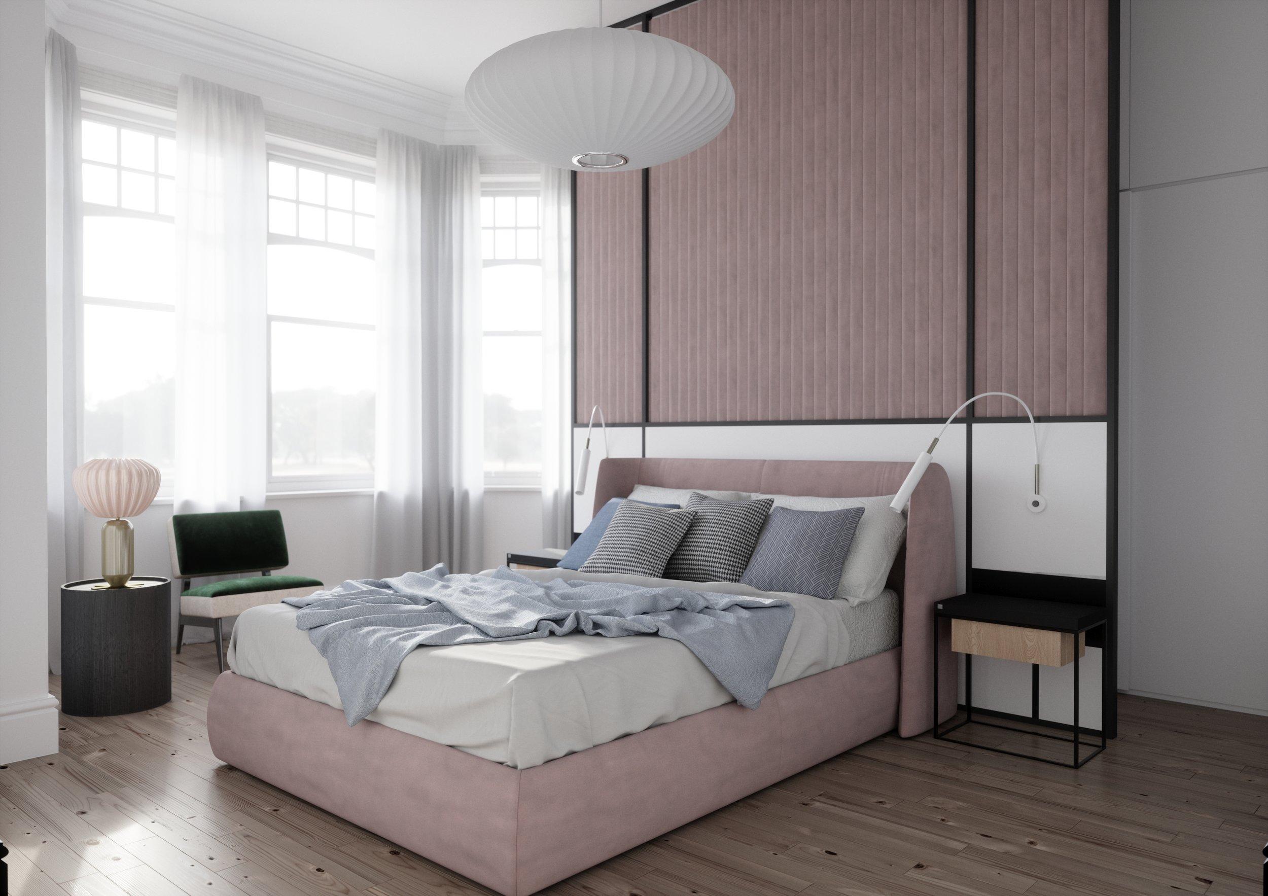 West Hampstead Interior Design Master Bedroom 1.jpg