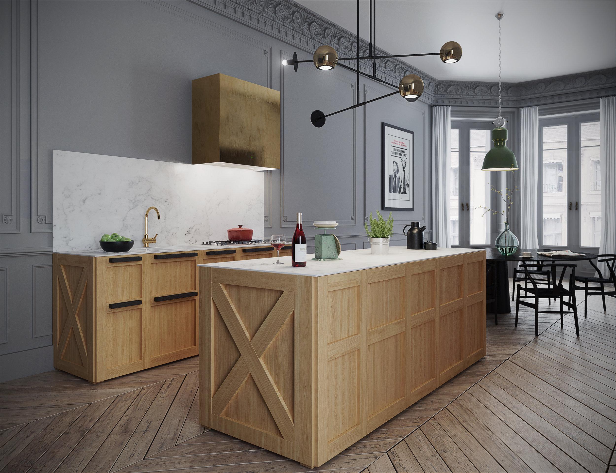 Paris Apartment Interior Design Kitchen Furniture Styling K Box 2.jpg