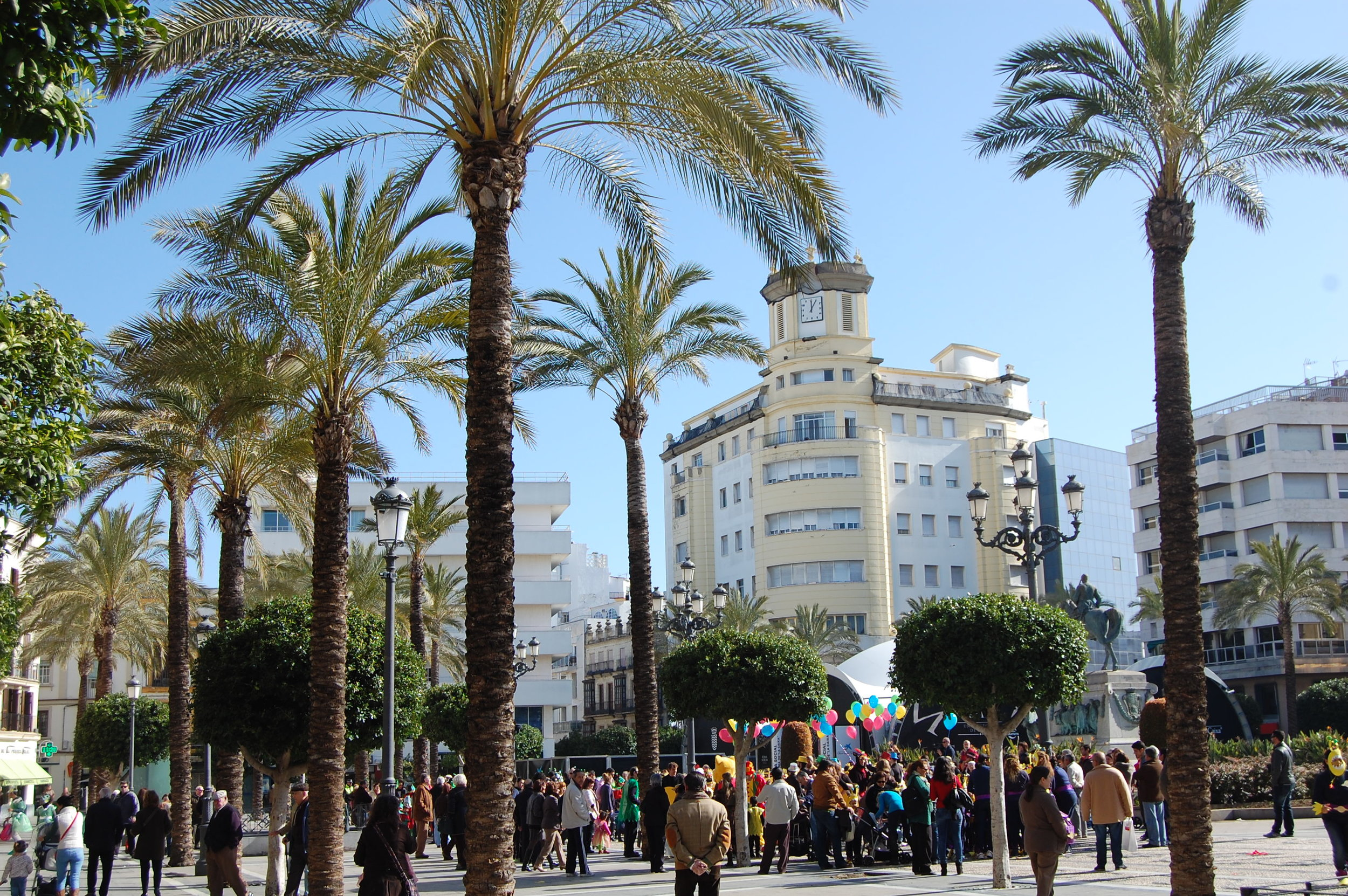 Plaza Arenal is your starting point for Jerez