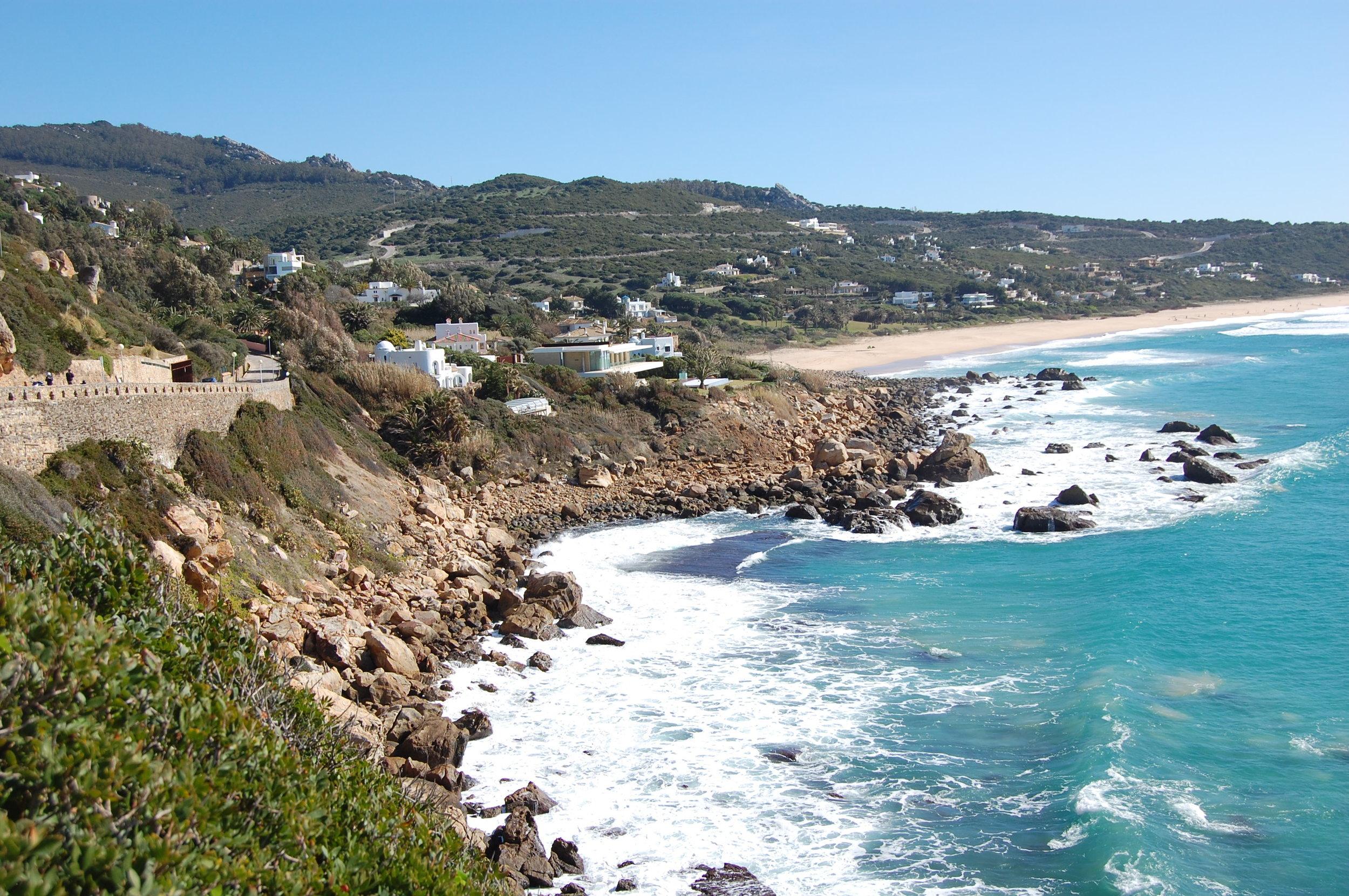 Atlanterra's beaches are the most wildly beautiful on the Costa de la Luz