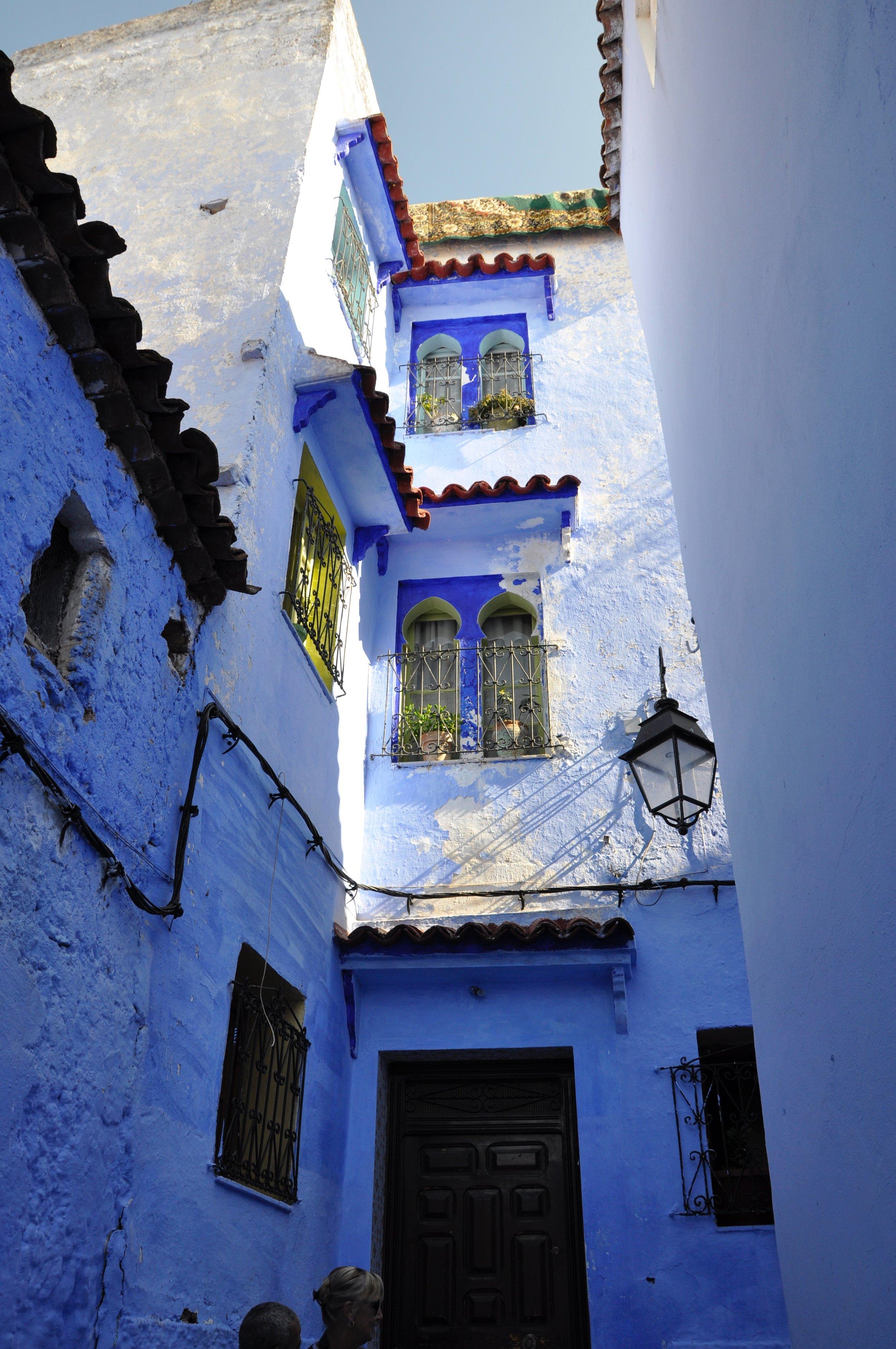 Blue is a divine colour